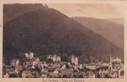 3728252Bad Harzburg, Villen Am Burgberg (Gestempelt 1920) (sehr Kleines Falte Im Ecken) - Bad Harzburg