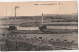 Berre- Panorama Des Usines Bruni-compagnie Francaise Du Zinc  2 Scan - Francia
