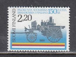 Finland 1988 - 150 Years Of Fire Brigade In Finland, Mi-Nr. 1057, MNH** - Finnland