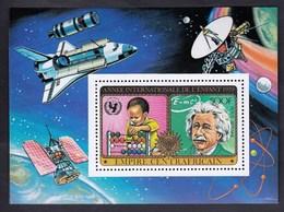 Central Africa / International Year Of The Child 1979 / Albert Einstein, Space, Rocket, Satellite / MNH - Sonstige