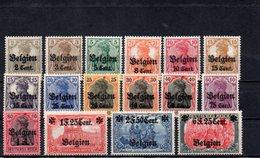 OCC. ALLEMANDE EN BELGIEN 1916-8 * - Occupation 1914-18