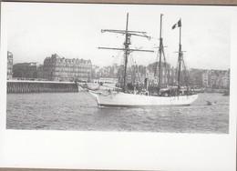 """TAAF Carte  J. B. CHARCOT  Le Départ Du """"Français"""" Au Havre  Août 1903 Repiquage. - Zonder Classificatie"""