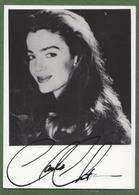 CLAUDIA CHRISTIAN Original In Person Signed Photo AUTOGRAPHE / AUTOGRAMM  10/15 Cm - Autographes