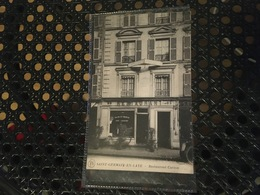 [Saint-Germain-en-Laye] : Restaurant Carion - St. Germain En Laye