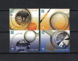 SLOWENIEN , Slovenia , 2005 , ** , MNH , Postfrisch , Mi.Nr. 543 A - 546 A - Slovenia