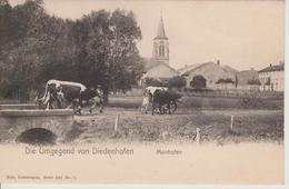 57 - THIONVILLE MANOM - NELS SERIE 101 N° 7 - CARTE RARE - France