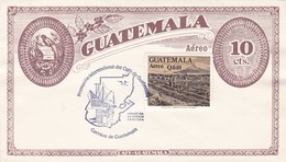 PROMOCION INTERNACIONAL DEL CAFE DE GUATEMALA. AÑO 1984, ENTERO ENTIRE FDC PRIMER DIA DE EMISION -LILHU - Guatemala