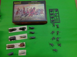 Figurines1/72 Caesar Miniatures-history 10 Assyrian Cavalry - Figurines