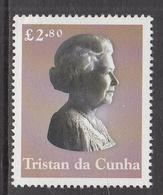 2003 Tristan Da Cunha  QEII JOINT ISSUE Complete Set Of 1 MNH  @ BELOW FACE VALUE - Tristan Da Cunha