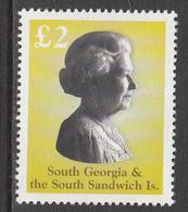 2003 South Georgia  QEII JOINT ISSUE Complete Set Of 1 MNH  @ BELOW FACE VALUE - Géorgie Du Sud