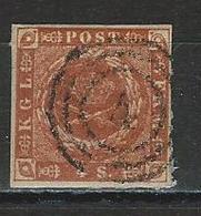 Dänemark Mi 4 O - 1851-63 (Frederik VII)