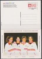 Schweiz Ganzsache1998 Nr.P 262/02 Ungebraucht ** FED CUP HalbfinaleP ( PK 113) Günstige Versandkosten - Stamped Stationery
