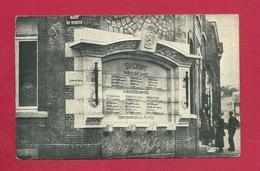 C.P.  Quenast =  Monument  Aux  Morts - Rebecq