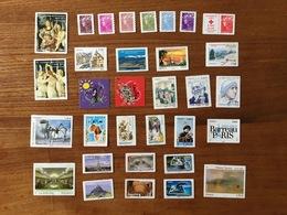 ADHESIFS DE FEUILLE - Année 2010 Complète : Marianne, Lanvin, Etc. (32 Timbres PRO) - Neufs ** - France