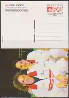 Schweiz Ganzsache1998 Nr.P 262/01 Ungebraucht ** FED CUP HalbfinaleP ( PK 161) Günstige Versandkosten - Stamped Stationery