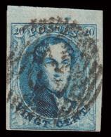 COB N° 11 TB - Bien Margé + Bord De Feuille - P? - Emplacement N°165 Sur Le Panneau. - 1849-1865 Medallions (Other)