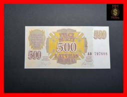 LATVIA 500 Rublu 1992  P. 42  UNC - Lettonia