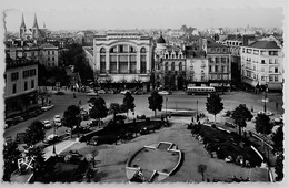 Carte Postale : 64 PAU : Place Clemenceau, Animé, , Timbre En 1959, REX - Pau