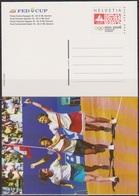 Schweiz Ganzsache1998 Nr.P 263/01 Ungebraucht  FED CUP Finale ( PK 64) Günstige Versandkosten - Stamped Stationery