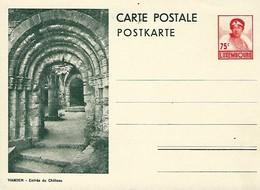 Luxembourg  -  Carte Postale - Postkarte - Vianden - Entrée Du Château - Prifix 108 - Entiers Postaux