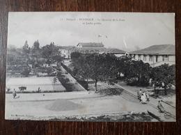 L23/441  Sénégal - RUFISQUE - Le Quartier De La Gare Et Jardin Public - Sénégal
