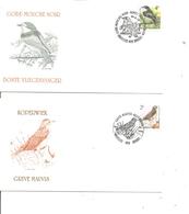 Belgique - Buzin - Oiseaux ( 2 FDC De 1996 à Voir) - 1991-00