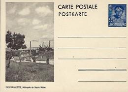Luxembourg  -  Carte Postale - Postkarte - Esch S.Alzette , Métropole Du Bassin Minier - Prifix 111 A - Entiers Postaux