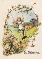 BALANCOIRE Trés Jolie Gravure Couleur   1897 - Autres Collections