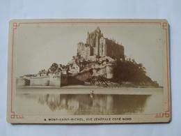 CDV  Mont Saint Michel, Vue Générale Côté Nord - TBE - Foto