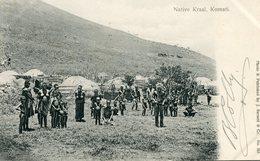 AFRIQUE DU SUD *** NATIVE KRAAL  *** KOMATI *** EN  1906 *** - Südafrika