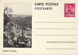 Luxembourg  -  Carte Postale - Postkarte - Clervaux , Cité Ardennaise - Prifix 117 - Entiers Postaux