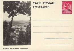 Luxembourg  -  Carte Postale - Postkarte - Ettelbruck,Porte Des Ardennes,Luxembourgeoises - Prifix 117 - Entiers Postaux