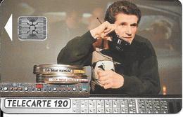 CARTE-PUCE-PUBLIC-120U-F236-SC5.520-02/92-LELOUCH CINEMA 2-V° 5 Ge 37533--UTILISE-TBE - France