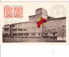 TAMINES - L'Ecole Moyenne - Belle Carte à Circulé - Sambreville