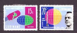 Suriname - Surinam NVPH Luchtpost LP 33 En 34 MH * (1961) - Suriname ... - 1975