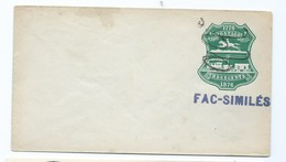3330 Entier Essai Fac Similés 1776 1876 Three Cents Poney Express Railway Poste Privée Private Post ? - Varietà, Errori & Curiosità