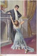 AK Künstlerkarte Joh. Adolf - Verzeih Mir! - Liebespaar - Ca. 1920 (47788) - Adolf 'Jodolfi'