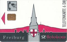 GERMANY(chip) - Freiburg(A 03), Tirage 20000, 02/92, Used - A + AD-Series : Publicitarias De Telekom AG Alemania