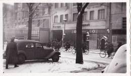 Petite  Photo  Traction Avant Citroën à La Libération D'Orléans 1944 Boulevard De Verdun - Automobiles