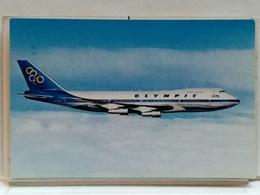 BOEING 747-200 B JUMBO JET - OLYMPIC AIRWAYS - 1946-....: Modern Era