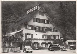 SWITZERLAND-SCHWEIZ-SUISSE-SVIZZERA-NIDERURNER-GLARUS-HOTEL=MINERALBAD-AUTO-CAR-VOITURE-CARTOLINA-VIAGGIATA ILO 8-9-1953 - GL Glaris