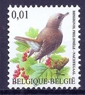 BELGIE * Buzin * Nr 3264 * Postfris Xx * WIT  PAPIER - 1985-.. Oiseaux (Buzin)