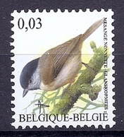 BELGIE * Buzin * Nr 3389 * Postfris Xx * HELDER WIT  PAPIER - 1985-.. Oiseaux (Buzin)