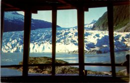 Alaska Juneau Mendenhall Glacier From Visitor Center - Juneau