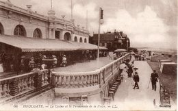 CPA - HOULGATE - Le Casino Et La Promenade De La Plage - Houlgate