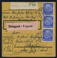 Paketkarte 1942 ST. PETER Siehe Beschreibung (114740) - Deutschland