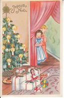 Fantaisie - Ancienne - Noël - Carte Luxe - Neujahr