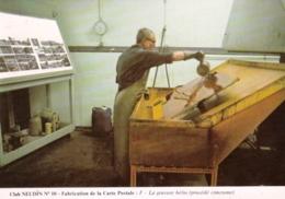 Metier - Club NAUDIN N10 - Fabrication De La Carte Postale - La Gravure Helio - Métiers
