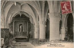 31ok 1808 CPA - PROVINS - INTERIEUR DE L'EGLISE - Provins