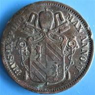 VATICAN ET ÉTATS PONTIFICAUX, Pie IX An V, 1 Baiocco  1850 R (Rome), TB - Vaticano